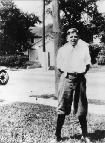 12 Year old Ronald Reagan