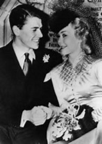 Married actress Jane Wyman