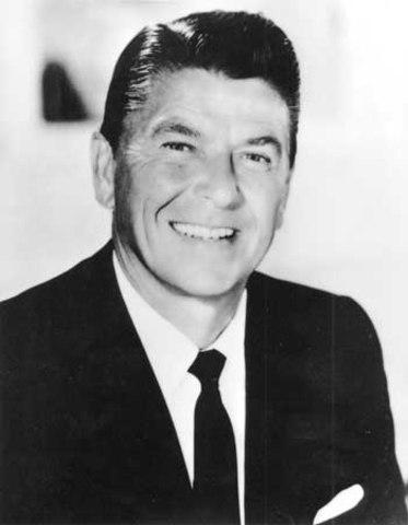 "Reagan defeated Edmund G. ""Pat"" Brown in a landslide."