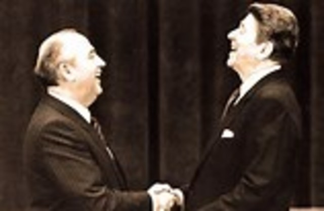 Reagan and Gorbachev Sign Missile Treaty and Vow to Work for Greater Reductions