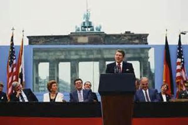 Berli Wall Speech