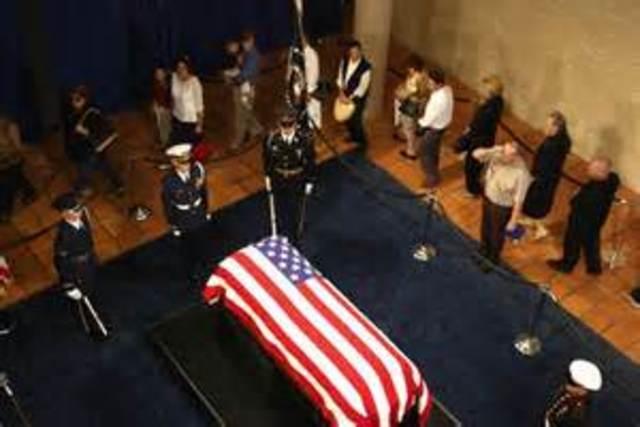 President Reagan Dies
