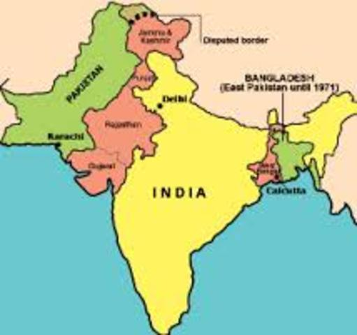 India Gets Partitioned