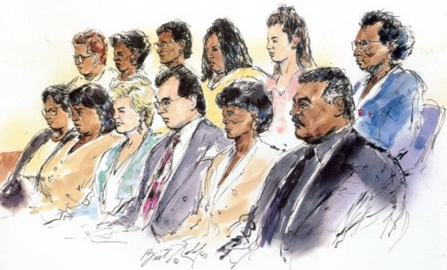 O.J. Simpspn Murder Trial