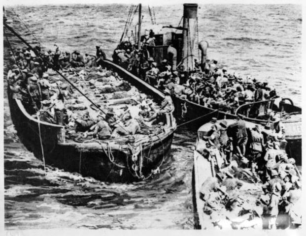 Allies Begin Evacuation of Gallipoli