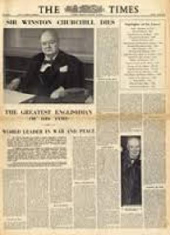 Whinston Churchill Dies