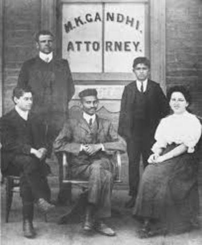 Gandhi Becomes A Lawyer