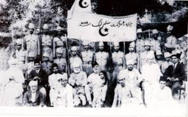 The All-Indian Muslim League is Formed
