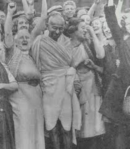 Gandhi Starts a Rebellion Across India