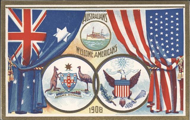 First U.S. troops arrive in Australia.