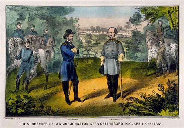 Joseph Johnston's Army Surrenders