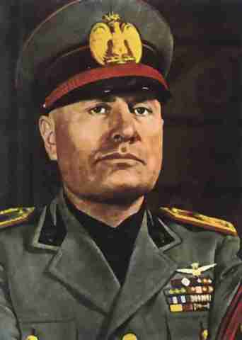 Leader of Italy- Benito Mussolini and Fascism