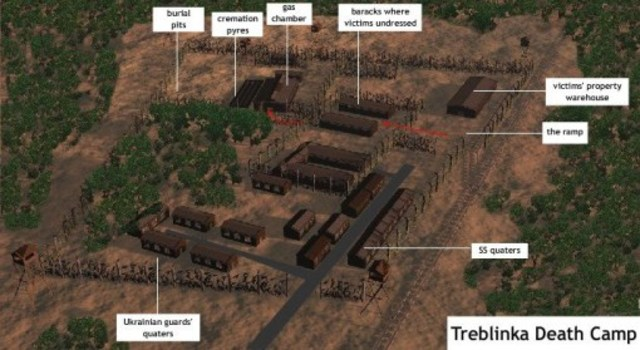Two hundred Jews escape from Treblinka extermination camp