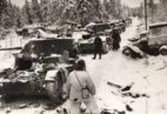 Soviets invade Finland