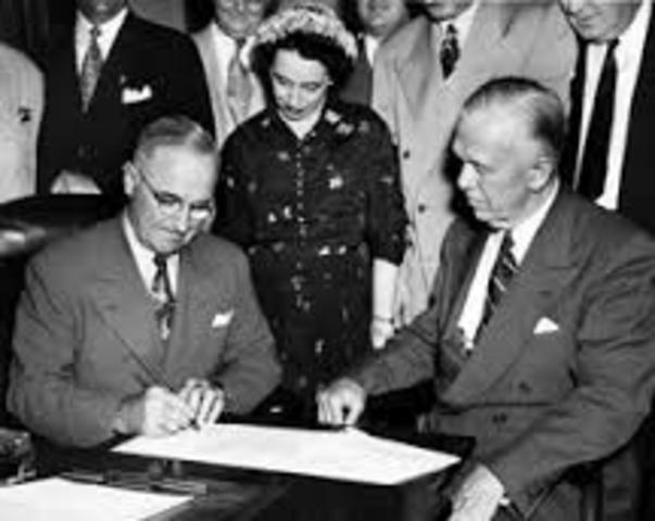 Truman Signs Peace Treaty With Japan, Officially Ending WWII