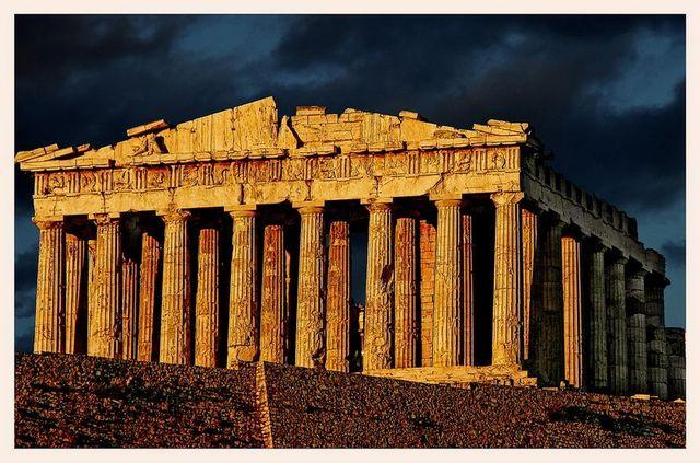 The Parthenon Rises