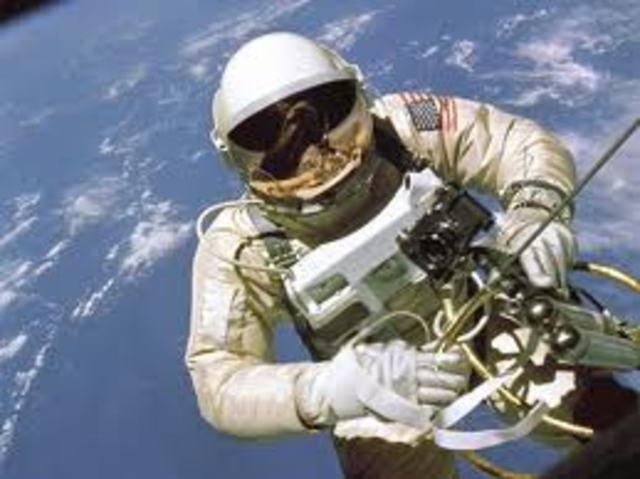 First America space walk