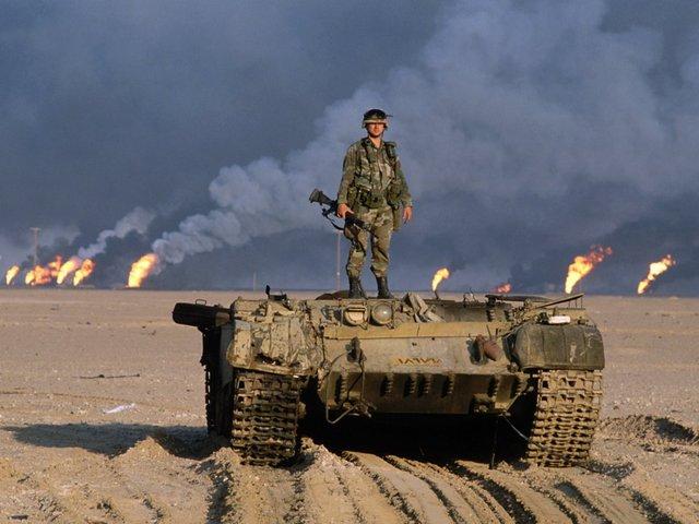 Canada enters Gulf War