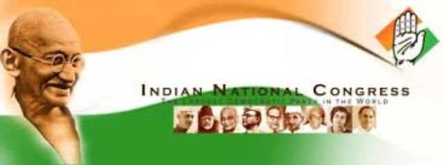The founding of the Indian National Congress