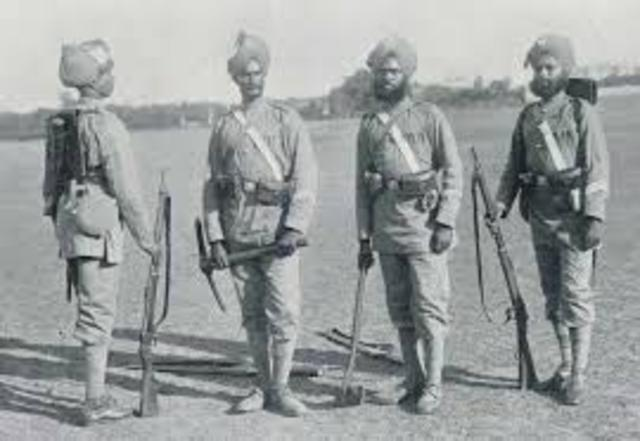 Indian Troops Mistreated by British