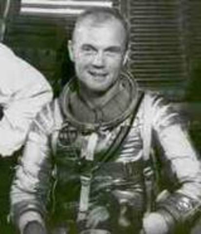 First American To Orbit Earth