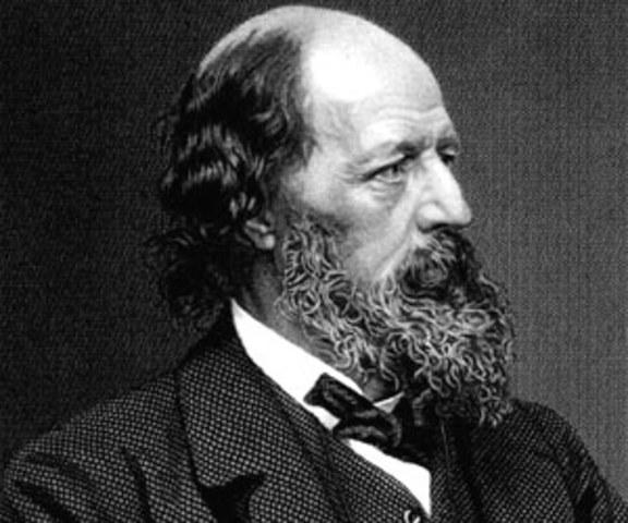 Alfred Tennyson (Birth)