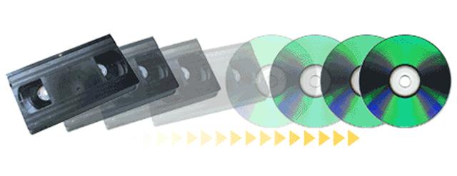 DVD exceeds VHS Rentals