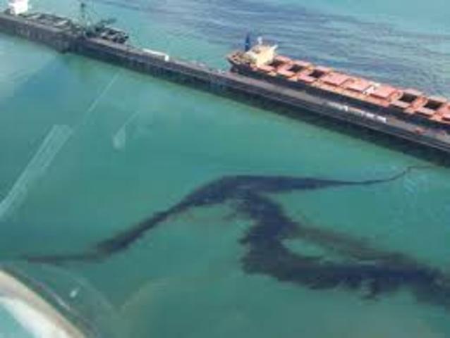 Derrame petrolero