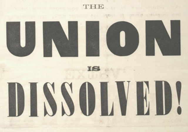 SC Secedes from Union
