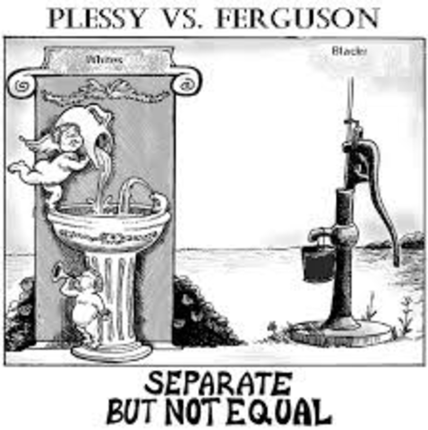 Plessy Vs. Ferguson (Day of SC Decision)