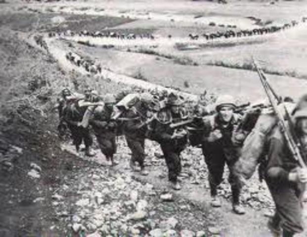 Italy invades Greece from Albania