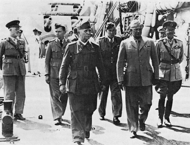 The Badoglio government surrenders unconditionally to the Allies
