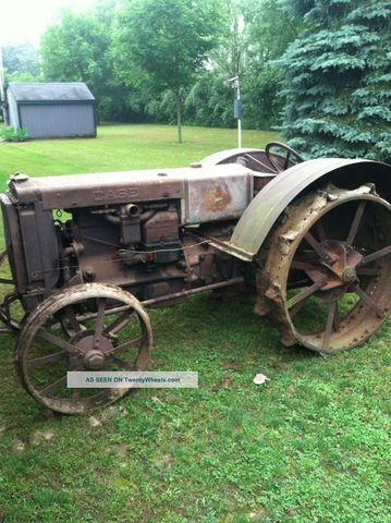 1930's Case Tractor