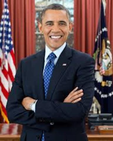 Barack Obama becomes 1st black president