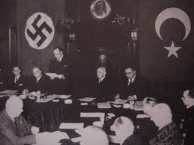 Anti-Comintern Pact was Signed