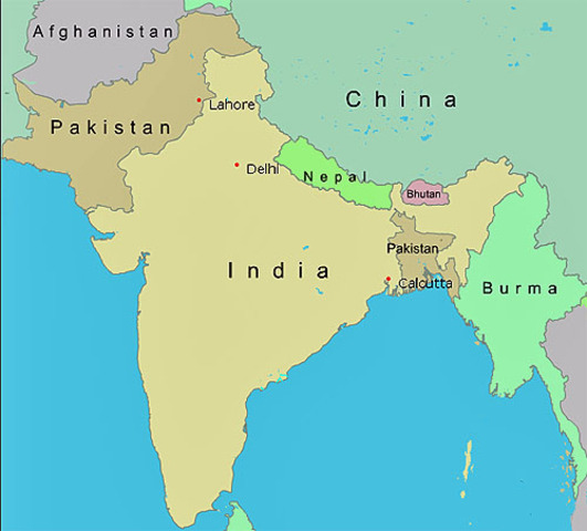 India gets divided