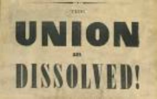 SC Secedes from the Union