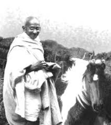 Gandhi Through India