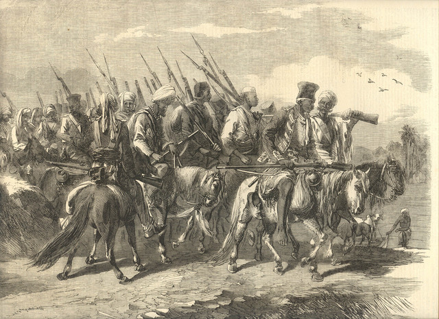 Beginning of the Indian Rebellion of 1857