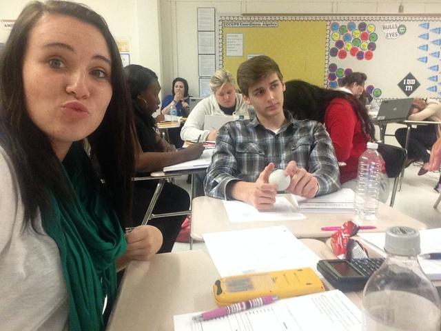 Fun Time in Math Class