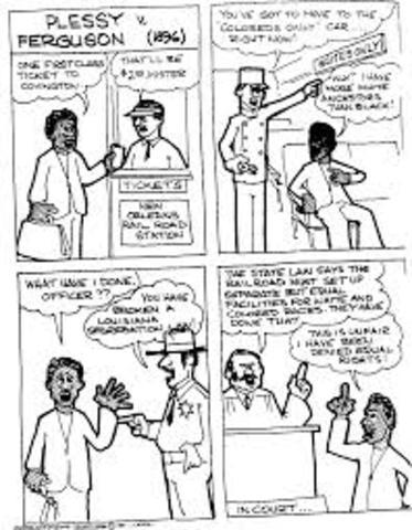 Plessy VS Ferguson (Day of Decision)