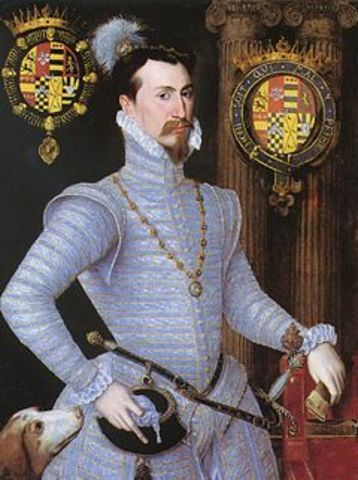 Death of Dudley, Earl of Leicester