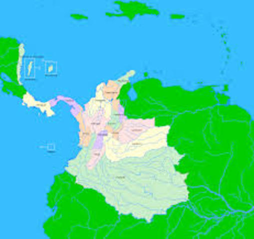Conformación de la Nueva Granada