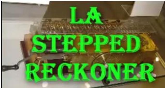 LA STEPPED RECKONER