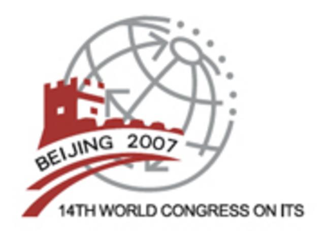 14th ITS World Congress Beijing 2007