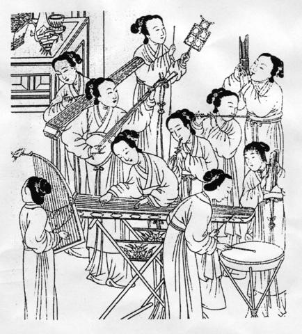 La música en la China Antigua: simbología y textura en la música tradicional china