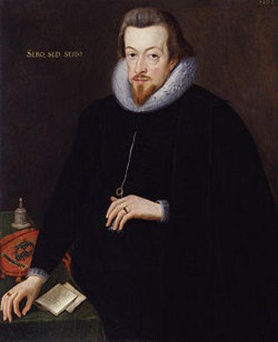 Robert Cecil appointed Principle Secretary