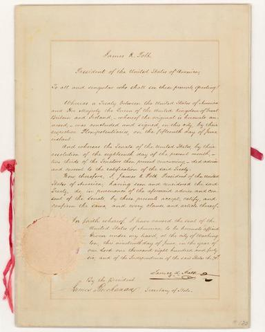 The Treaty of Oregon