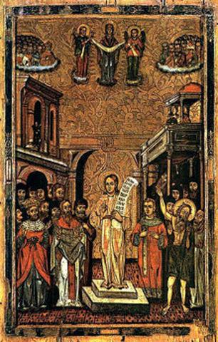 Romanos The Melodist (490-556)