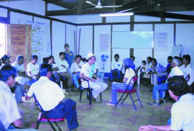 Apoyo a la Construcción del Proceso de Democratización y Establecimiento de laPaz en Guatemala